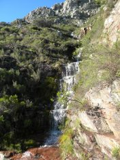 Table Mountain Waterfalls
