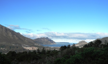 Hout Bay down below