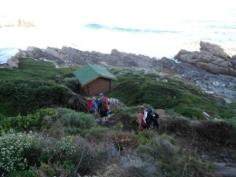 We reached our huts - Otter River
