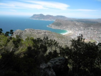 View after the Boomslang Cave Hike above Kalkbay