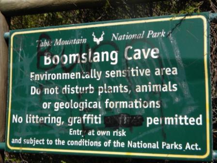 Boomslang Cave Hike above Kalkbay