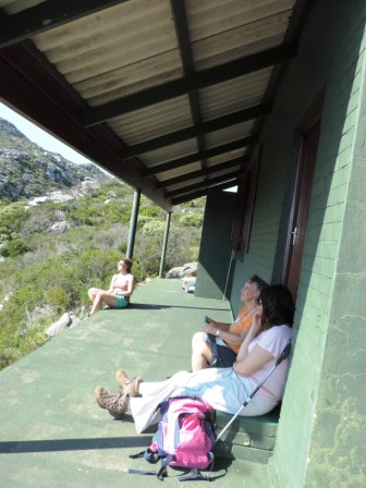 Erica Hut at Cape Point