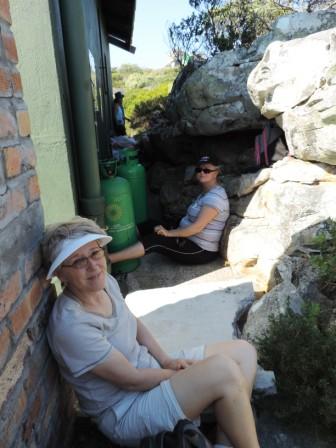 Erica Hut at Cape Point