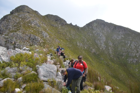 Three Sisters Hike in Kleinmond