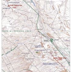 Rim of Africa - Traverse One Map