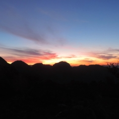 The Rim of Africa Traverse One: Day 3 sunset
