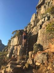 Hiking Lions Head with kids