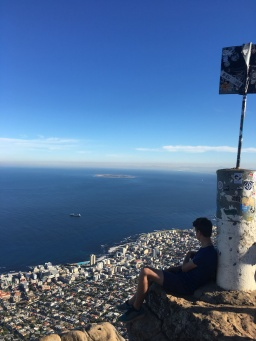 Hiking Lions Head with kids