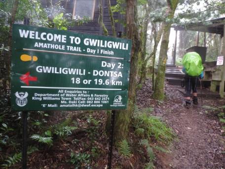 Gwiligwili hut