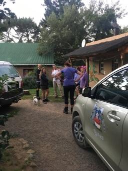 Pick up point for Amatola Hiking Trail