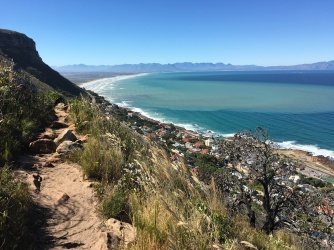 View over Muizenberg.