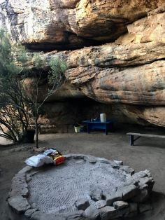 Sewefontein cave campsite