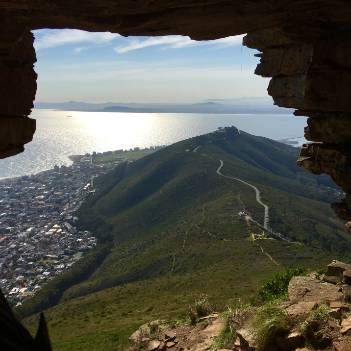 Watchmans Cave on Lions Head