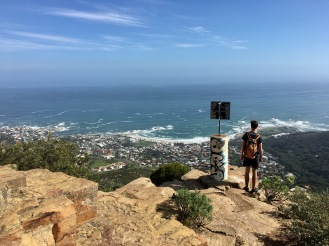Kloof Nek Corner overlooking Camps Bay