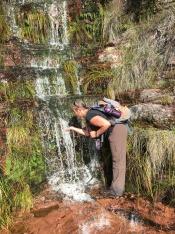 Waterfalls along Table Mountain Contour Path