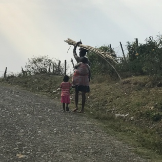 Transkei villagers