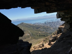 Watchman's Cave on Lion's Head is just off the main path, overlooking Signal Hill, Sea Point and the City Bowl. It's small but offers plenty of cool shade and photo opportunities.