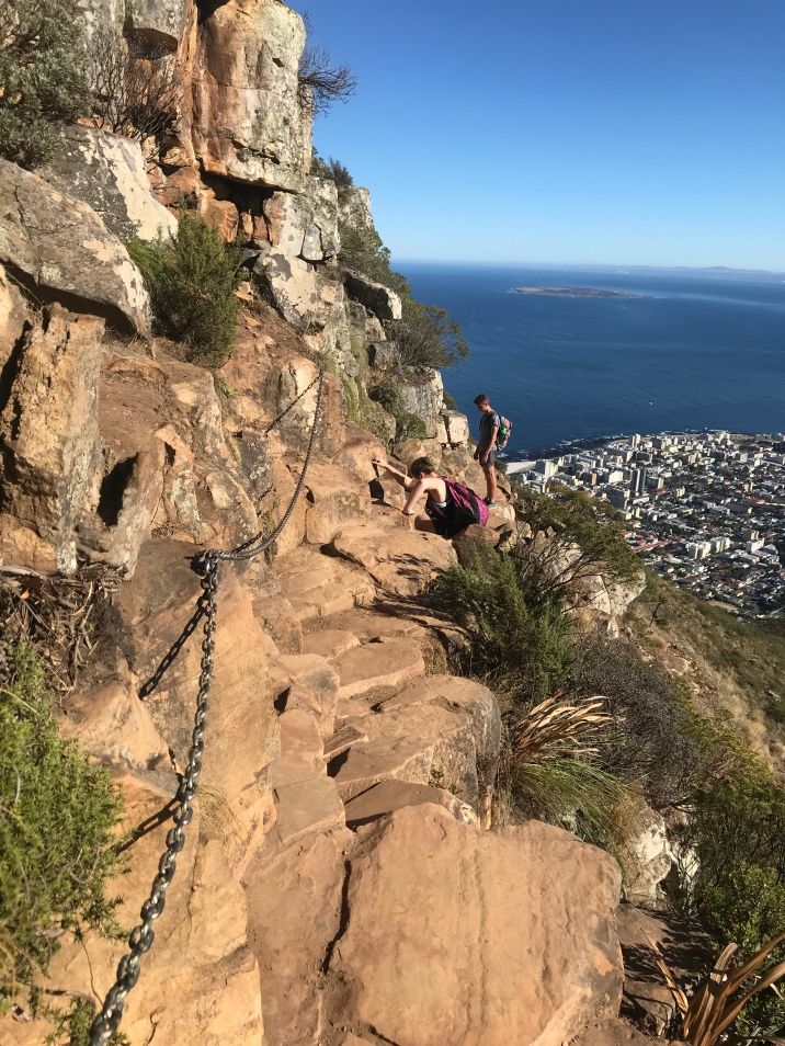 A few chains to help you on Lions Head