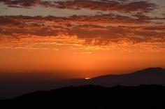 Sunrise at Shamrock Hut on the Hottentots Holland Trail