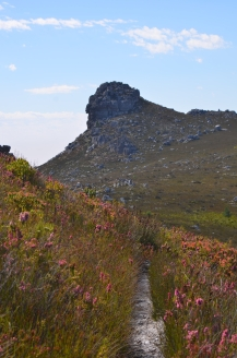 The Sphinx on the Hottentots Holland Trail