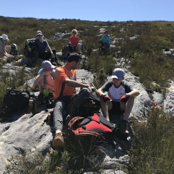 Hiking with kids in Cape Town