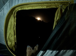 The best view is from your tent