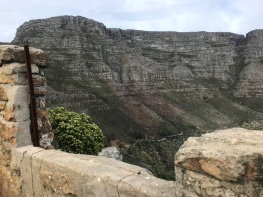 Table Mountain from Oppelskop Ruin