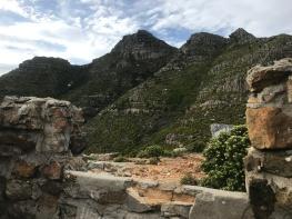 Devils Peak from Oppelskop Ruin