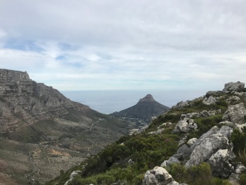View from ledge just below Devils Peak