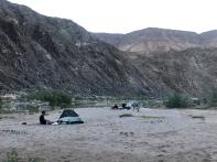 Tent or sleep under start