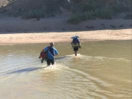 Getting to Bikini beach with help