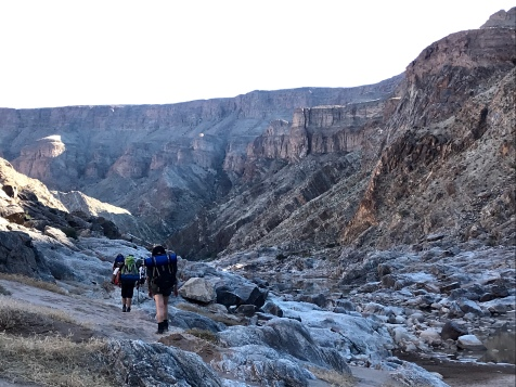 Day 1 in the Fish River Canyon