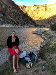 Our refreshing bath in the Fish River Canyon. The only deep bath of our hike