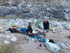 Camping in the Fish River Canyon - Day 1