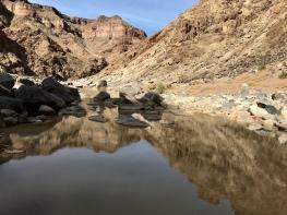 Fish River Canyon reflections