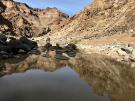 Fish River Canyon reflections