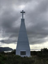 In memory of the officers and men who died on the Cape of Good Hope Station - top of Signal School Steps overlooking Simon's Town