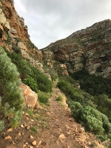 15 minute walk to Admiral's Waterfall in Simons Town