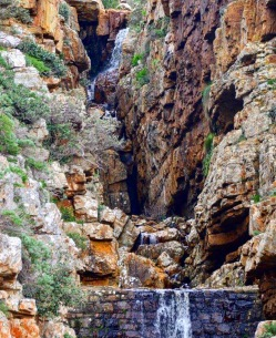 Admiral's Waterfall in Simons Town