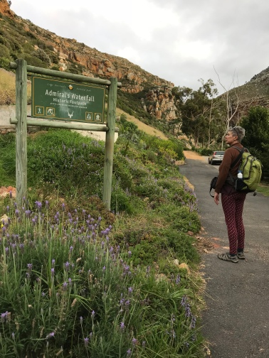 Short walk to Admiral's Waterfall in Simons Town