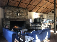 Sadawa Game Reserve lounge and bar